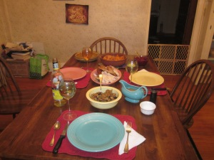 Beck-Henges Thanksgiving Table