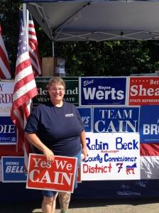 Yep, I am a politician. Oh, boy.